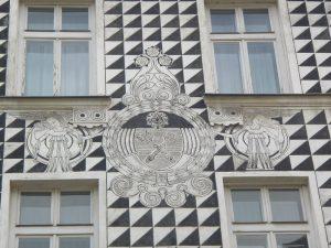 Krakow town house tile work