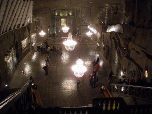 Krakow salt mines: the church