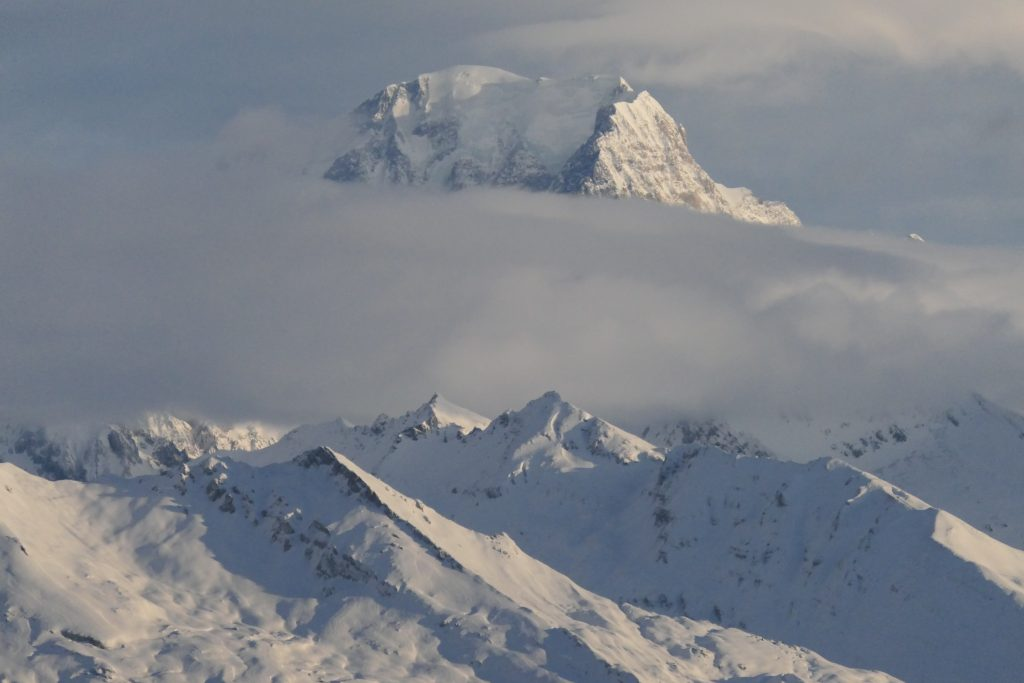 Mont Blanc above cloud 15.xii.19